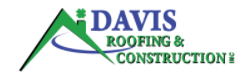 Davis Roofing and Construction Logo